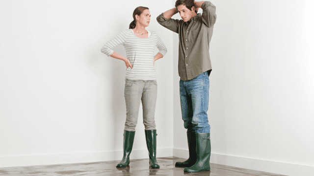 how to repair flood damage